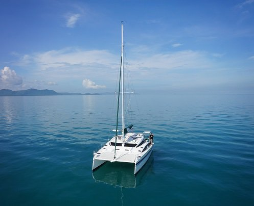 Enjoy luxury and comfort on this Phuket catamaran rental