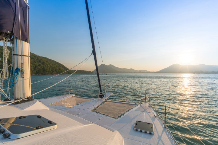 Discover Phuket surroundings on this IS 410 Island Spirit Catamarans boat