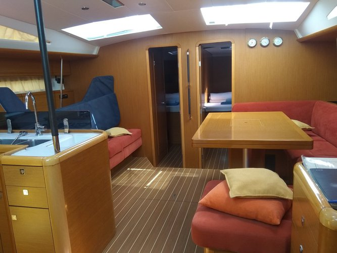 Discover Split region surroundings on this Jeanneau 53 Jeanneau boat