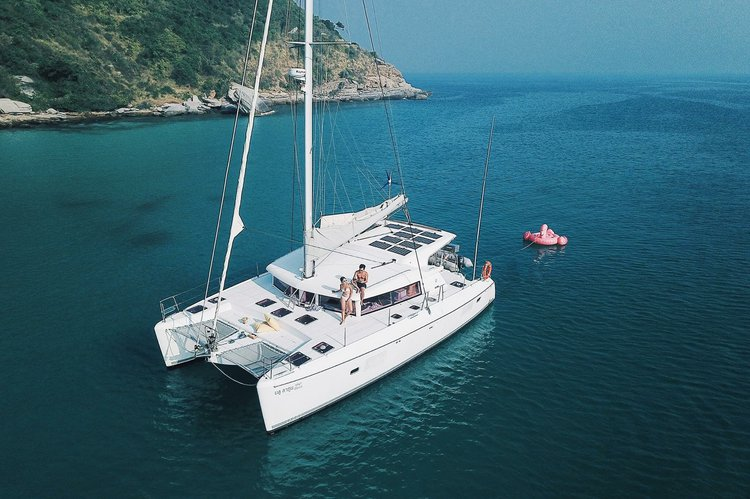Have fun in the sun on this Pattaya catamaran charter