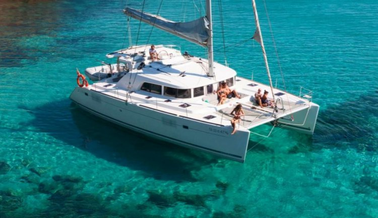 Catamaran boat rental in Pattaya, Thailand