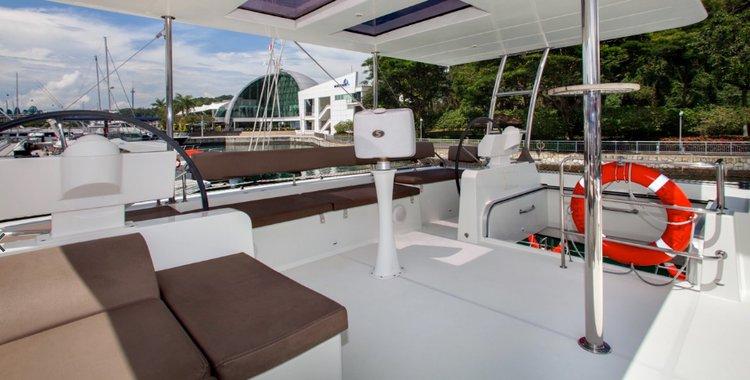 Catamaran boat rental in Langkawi, Malaysia