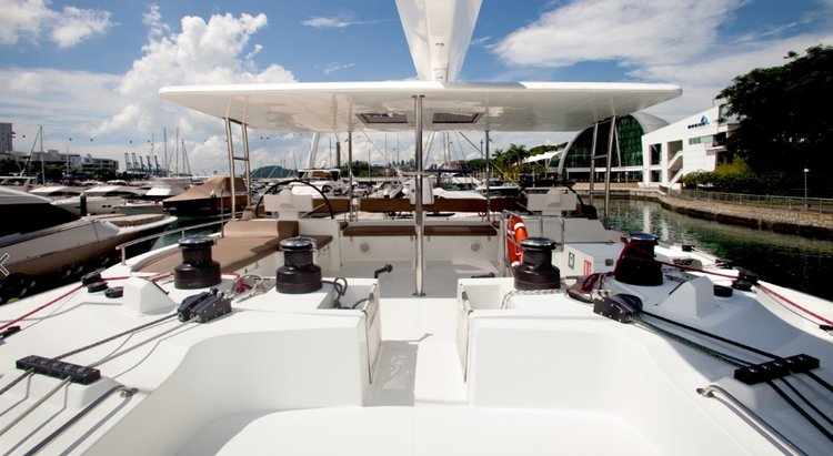 Boating is fun with a Lagoon in Langkawi