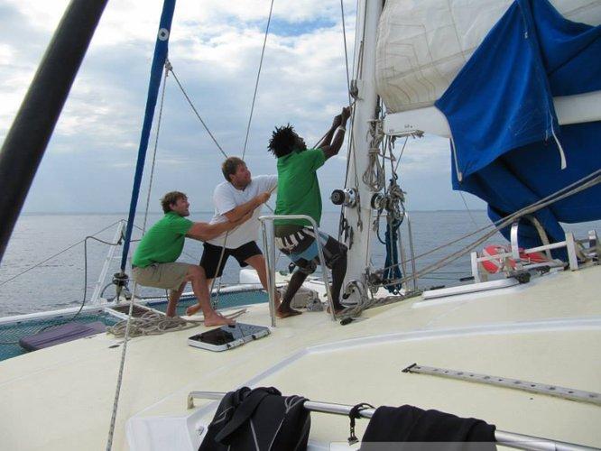 Discover Zanzibar surroundings on this Custom Lavranos boat