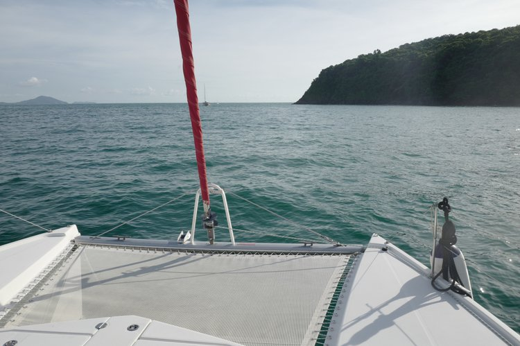 Catamaran boat for rent in Pattaya