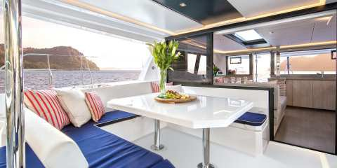 Catamaran boat rental in Auckland, New Zealand