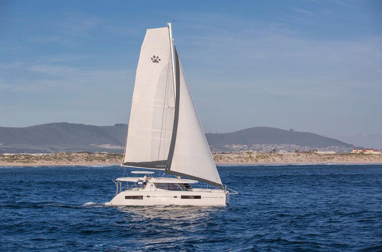Hop aboard this amazing catamaran rental in New Zealand!