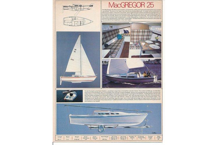 25.0 feet Macgregor Yachts in great shape