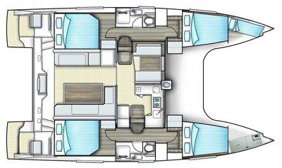 39.0 feet Nautitech Catamarans in great shape