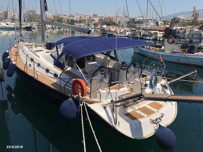 Rent this Ocean Yachts Ocean Star 56.1 for a true nautical adventure