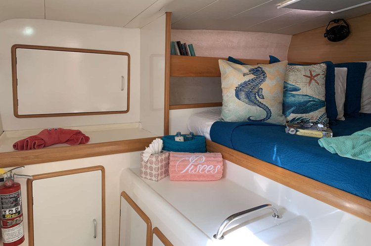 Catamaran boat rental in Yacht Haven Grande Marina, U.S. Virgin Islands