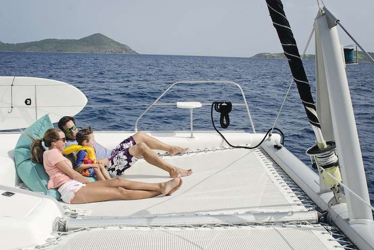 Catamaran boat for rent in Charlotte Amalie