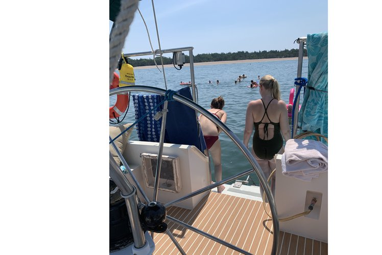 Schooner boat rental in Sag Harbor Town Docks, NY