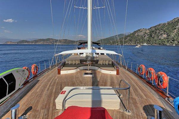 Gulet boat for rent in Fethiye