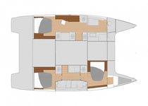 Superb catamaran for sailing the warm BVI waters!