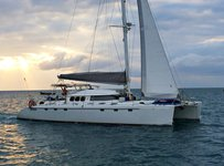 Rent this catamaran for a true boating experience