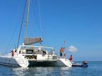 Charter this amazing catamaran in Tanzania