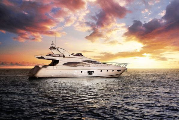 Indulge in luxury abord 68' Azimut in Miami Beach