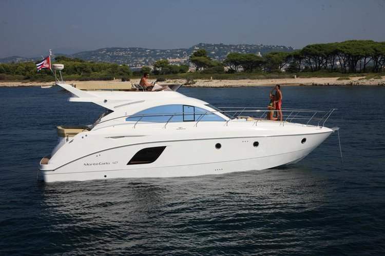 Discover Split region surroundings on this Monte Carlo 47 Fly Bénéteau boat