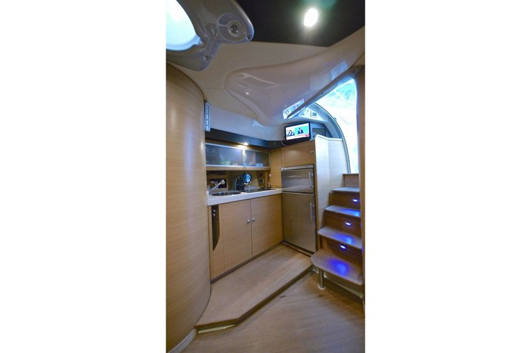 Motor yacht boat for rent in Rhodes