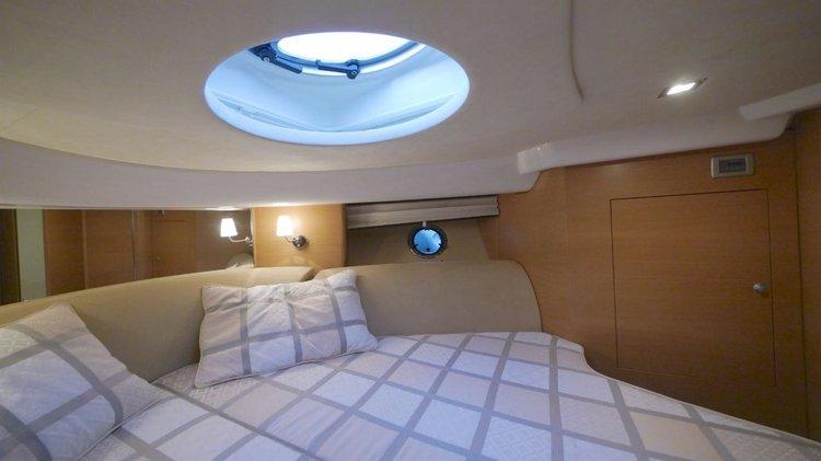 Motor yacht boat rental in Rhodes, Greece