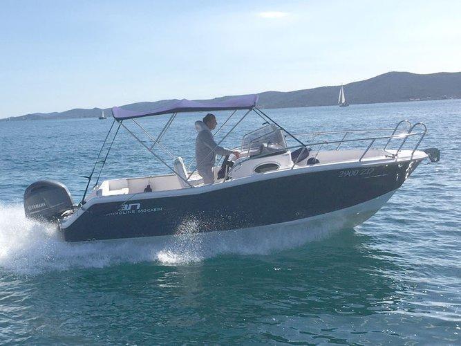 Sail the beautiful waters of Sukošan on this cozy Elan Elan 650