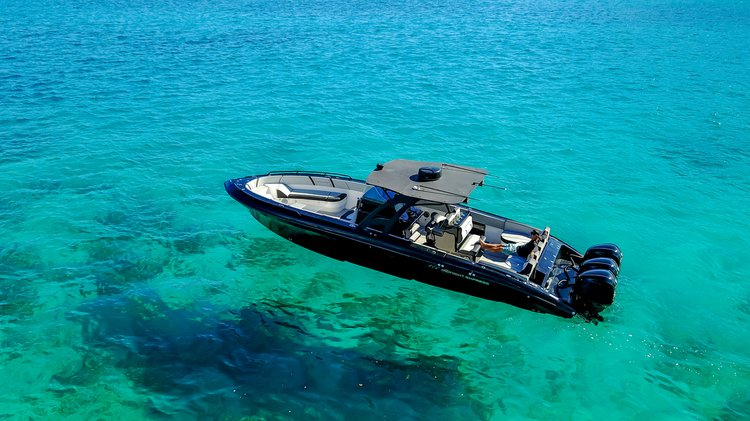Charter the Black Boat and explore the Virgin Islands in Style!