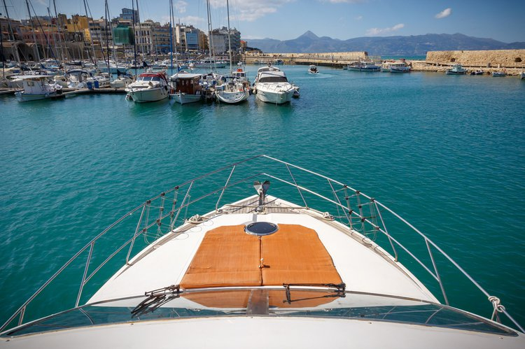 Boating is fun with a Motor yacht in Heraklion