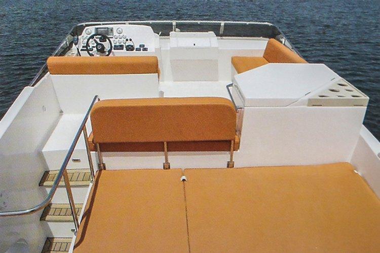 Boat for rent Oryx 46.0 feet in Heraklion Port, Greece
