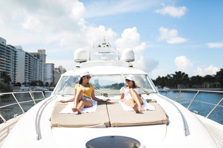 Motor yacht boat rental in Fountainebleau Hotel Marina, FL