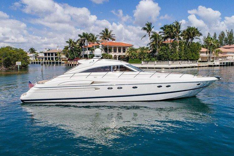 This 65.0' Princess cand take up to 12 passengers around Miami Beach
