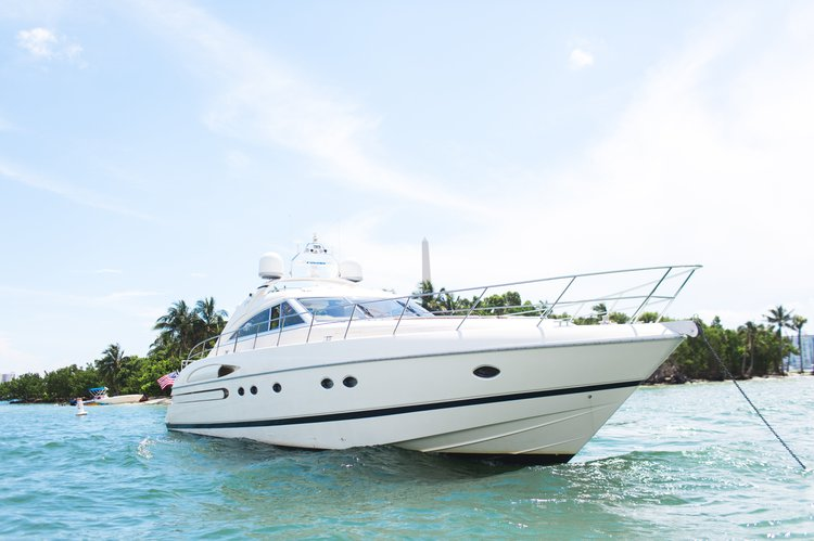 Charter 65V Princess in Miami- TWO JET SKIS!