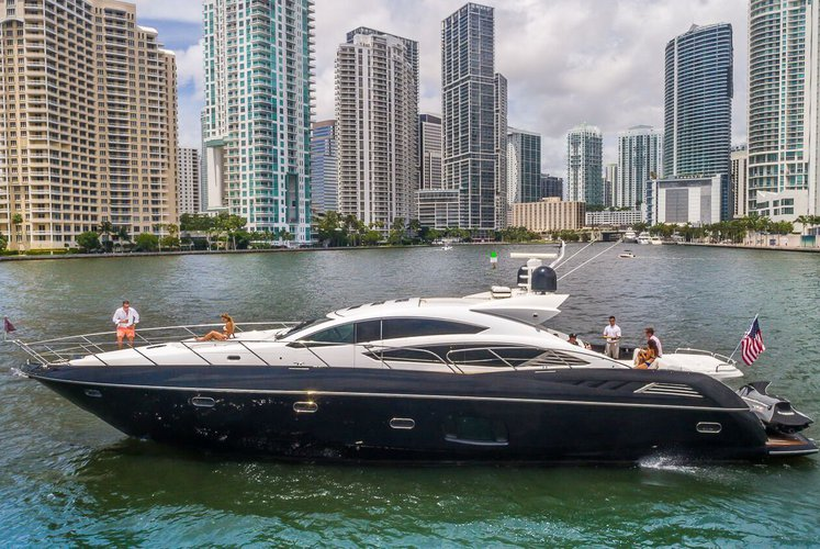 All In - 74' Custom Sunseeker Luxury Yacht Charter