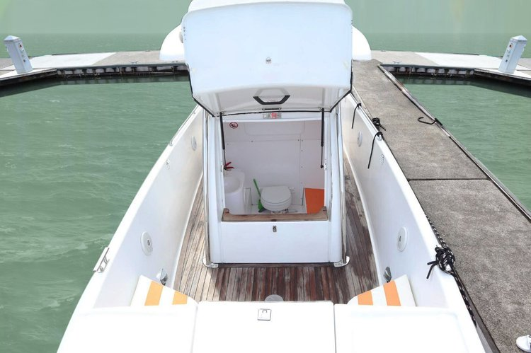 Cruiser boat rental in Royal Phuket Marina, Thailand