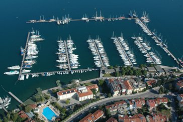 Cruiser boat rental in fethiye ece saray marine, Turkey