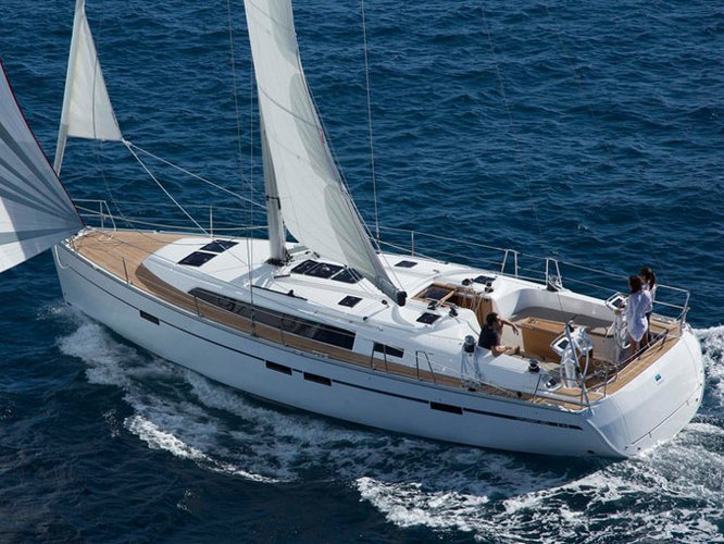 All you need to do is relax and have fun aboard the Bavaria Yachtbau Bavaria Cruiser 46-8