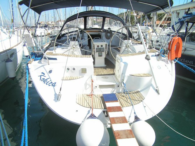 Discover Split region surroundings on this Bavaria 49 Bavaria Yachtbau boat