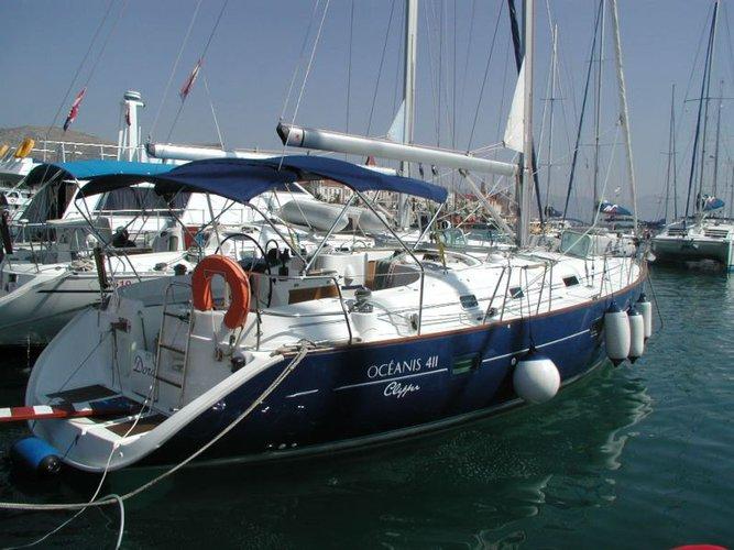 Boat for rent Bénéteau 41.0 feet in Marina Trogir – ACI,
