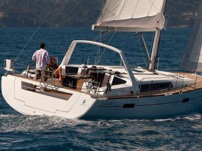 Get on the water and enjoy Lefkada in style on our Beneteau Oceanis 45