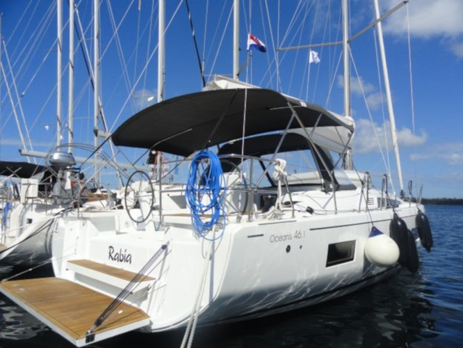 Climb aboard this Beneteau Oceanis 46.1 for an unforgettable experience