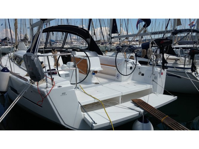 Enjoy Kaštel Gomilica, HR to the fullest on our comfortable Dufour Yachts Dufour 410 Grand Large
