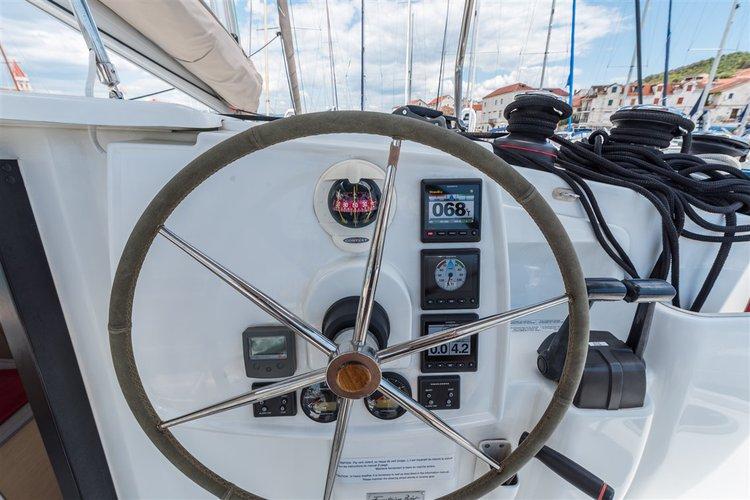 Catamaran boat rental in Marina Trogir – ACI, Croatia