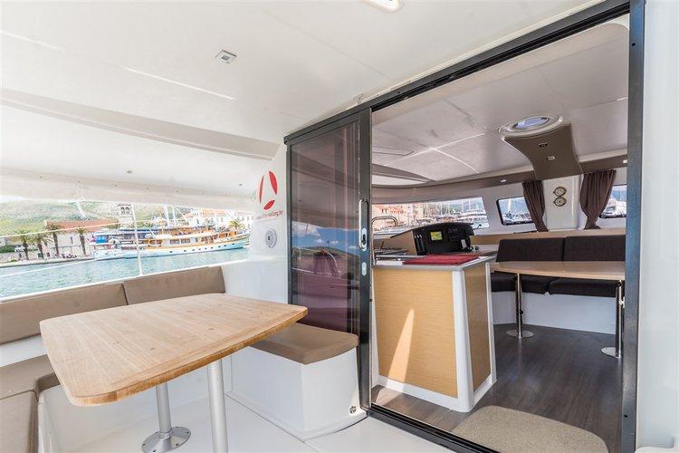Boat for rent Fountaine Pajot 39.0 feet in Marina Trogir – ACI, Croatia