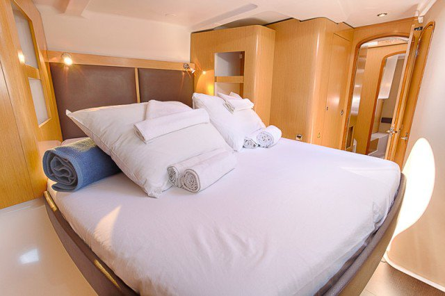 Discover Split surroundings on this Orana 44 Fountaine Pajot boat