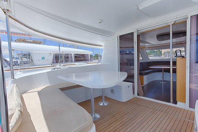 Boat for rent Fountaine Pajot 42.97 feet in ACI Marina Split, Croatia