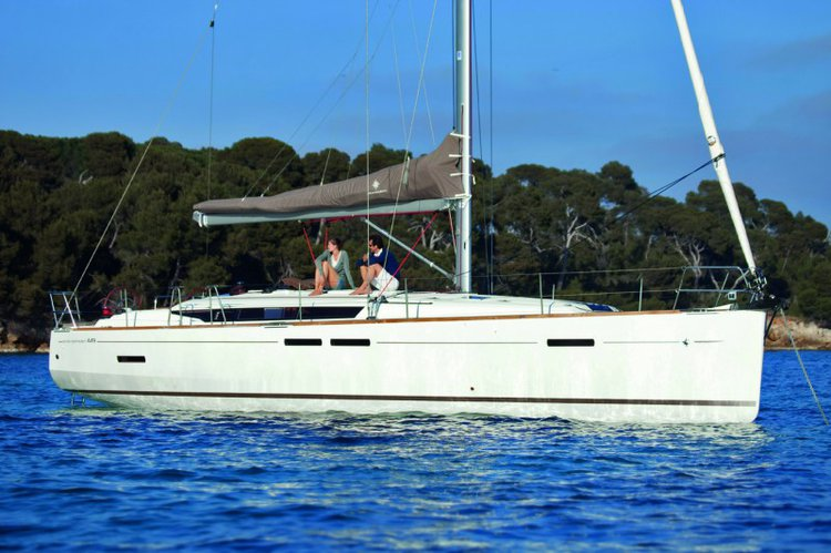Rent this Jeanneau Sun Odyssey 449 for a true nautical adventure