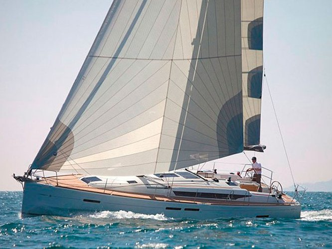 Rent this Jeanneau Sun Odyssey 439 for a true nautical adventure