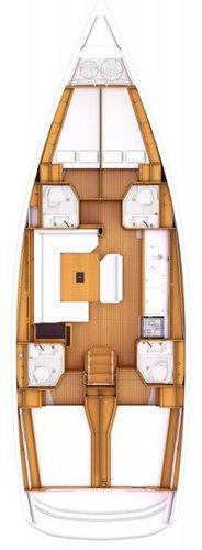 Boat for rent Jeanneau 46.0 feet in Marina Nava, Split, Croatia