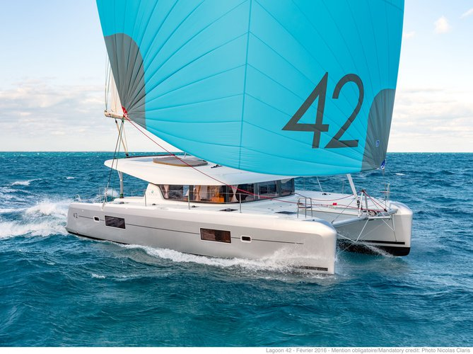 Enjoy Palermo, IT to the fullest on our comfortable Lagoon Lagoon 42