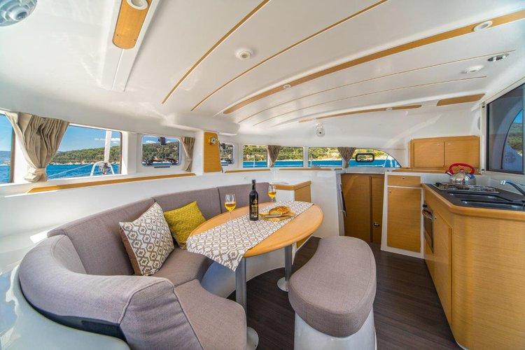 Boat for rent Lagoon-Bénéteau 37.0 feet in ACI marina Slano, Croatia